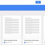 Google Docs, Sheets, Slides and Drive get a fresh new look