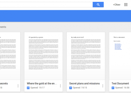 Google Docs, Sheets, Slides and Drive get a fresh new look
