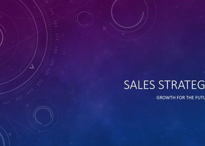 Sales Strategy Presentation Template